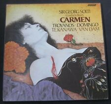 Bizet ‎– Carmen Solti / Domingo london OSA 13115 3 lp BOX Opera