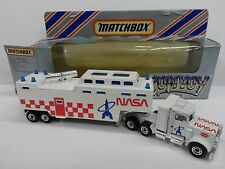 MATCHBOX CONVOY CY15 PETERBILT NASA TRACKING VEHICLE - NMIB