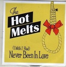 (CB808) The Hot Melts, (I Wish I Had) Never Been In Love - 2008 DJ CD