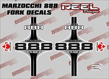 MARZOCCHI BOMBER 888 Fork decal stickers graphics Mountain Bike Downhill MTB