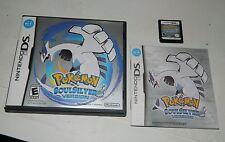 Pokemon: SoulSilver Version (Nintendo DS, 2010) DSi Soul Silver COMPLETE
