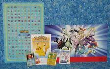 Pokemon 20th Anniversary Exclusive Limited Edition 6 Item Gift Lot from 2016 Mew