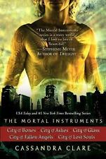 The Mortal Instruments: City of Bones; City of Ashes; City of Glass; City of Fal