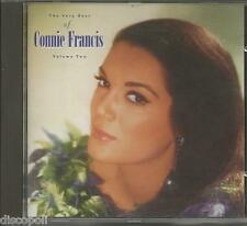 CONNIE FRANCIS- The very best vol. 2 CD 1987 MINT COND