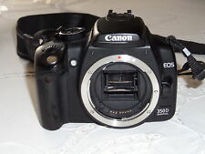 Canon EOS 350D 8.0MP Digital-SLR DSLR Camera Body Only -GOOD CONDITION & WORKING