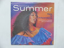 DONNA SUMMER State of independence vangelis jon anderson 79344