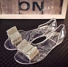 Sparkling Rhinestone Crystal Wedding Bridal White Double Bow Shoe Clips Pair