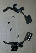 ACER ASPIRE ONE ZG5 LCD SCREEN LID HINGES PAIR LEFT & RIGHT + SCREWS - FREE POST
