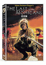 LAST OF THE MOHICANS NEW DVD