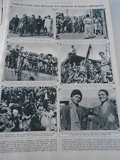Types of Young jews smuggled into palestine as illegal immigrants 1946 Print