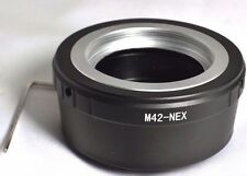 M42 to  Sony NEX E lens Mount adapter 5R 5T C3 Camera - Free shipping USA