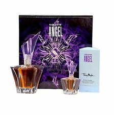 ANGEL VIOLET BY THIERRY MUGLER 3 PIECE GIFT SET EAU DE PARFUM SPRAY 25ML NIB