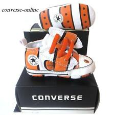 Baby Boy CONVERSE All First Star CLOWN FISH SLIP Crib Trainers Shoe 19 UK SIZE 3