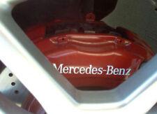 6x Mercedes Benz HI TEMP brake caliper decals stickers C E S class SLK CLS CL