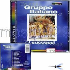 "GRUPPO ITALIANO ""I SUCCESSI"" RARE CD ITALO DISCO SEALED"