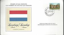 1986 Luxembourg FDC Stamps of All Nations