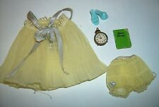 Sweet Dreams #973 Yellow baby doll pajamas 1959 Fashions clothes Vintage Barbie