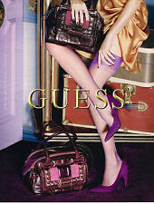 PUBLICITE ADVERTISING 104  2009  GUESS  collection SACS 2