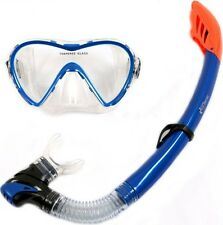 3-BL MASK and SNORKEL SET SILICON by Two Bare Feet - Adult purge valve CLEARANCE