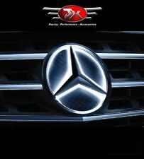 Mercedes Benz LED EMBLEM Front Grille Logo Star Badge  WHITE BLUE RED