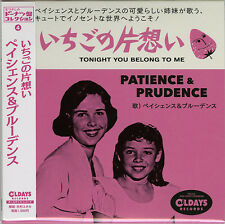 PATIENCE & PRUDENCE-TONIGHT YOU BELONG TO ME-JAPAN MINI LP CD C94