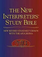 The New Interpreter's Study Bible: New Revised Standard Version With the Apoc...