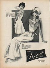 Publicité Advertising  lingerie neyret