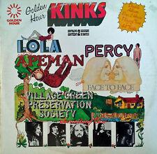 THE KINKS - GOLDEN HOUR - 2 LP SET - CANADIAN PRESSING - 44 TRACKS