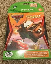 Leapfrog Tag Book Cars 2 Project Undercover Leap Reader LeapReader