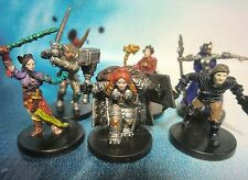 Dungeons & Dragons Miniatures Lot  Player Character Party !!  s100