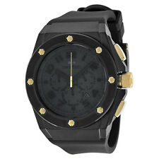 TW Steel Lotus Renault Black Chronograph Dial Mens Watch TW685 Black Gold Water