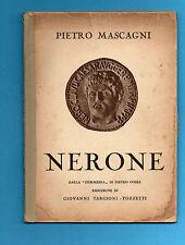 (AM) LIBRETTO OPERA-NERONE-MASCAGNI-ARTI GRAFICHE BELFORTE 1935