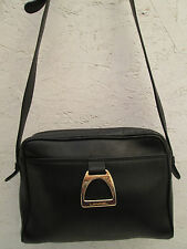AUTHENTIQUE sac à main  style sacoche  LANCEL cuir  TBEG  vintage bag*