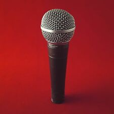 Vintage 1980 Shure SM58 Microphone Made in the USA! (sm 58, 57, unidyne, mic)