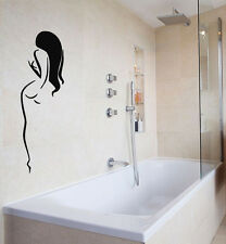 Wall Decals Vinyl Decal Sticker Art Murals Bath Decor Spa Salon Nude Woman Kj666