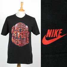 MENS NIKE BLACK FEEL THE PRESSURE T-SHIRT SHIRT SPORTS CASUAL GYM JOG L