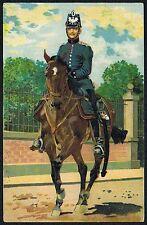 Régiment carte télégraphiques bataillon-armée allemande artistes carte postale