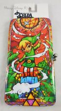 New Nintendo The Legend Of Zelda Stained Glass Kisslock Hinge Wallet Card Tote