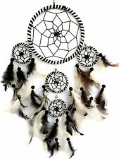 Handmade Dream Catcher with feathers car or  wall hanging decoration ornament-wb