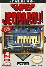 TALKING SUPER JEOPARDY  NINTENDO  VIDEO GAME