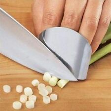 Stainless Steel Finger Protector Hand Guard Kitchen Knife Slice Chop Shield Tool