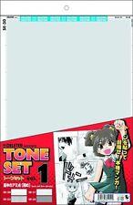 DELETER Screen Tone Set Vol.1 Manga Tools Kit