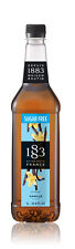 Routin 1883 Coffee Syrup VANILLA ~ 1 Ltr ~ SUGAR FREE!