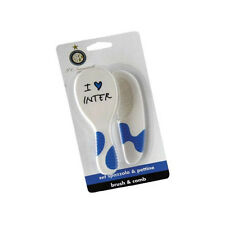 FC.INTER set spazzola + pettine i love inter da neonato