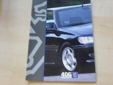 51758) Peugeot 406 Limousine Prospekt 199?