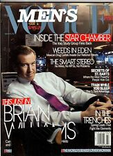 2007 Men's Vogue March-April - Brian Williams; James Dean