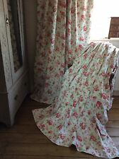 Cath Kidston For Ikea Rosali Thermal Blackout Lined Curtains 2 Pair Avail HUGE