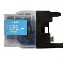 Compatible Brother LC75 Cyan Ink Cartridge Inkjet Print Quality Non Refillable