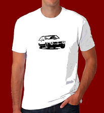 Alfa Romeo Alfetta GTV GTV6 V6 Dad gift classic Retro Race Car inspired T Shirt
