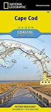 National Geographic Trails Illustrated Massachusetts Cape Cod Map 250